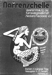Narrenschelle 1977
